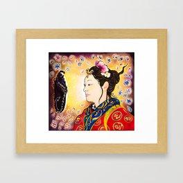 Amaterasu Goddess Framed Art Print