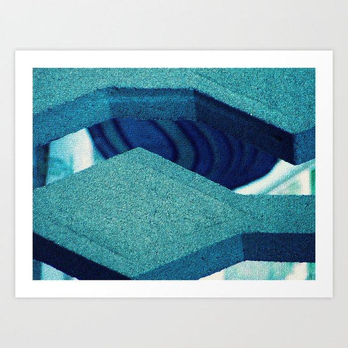 Concrete Jaws Art Print
