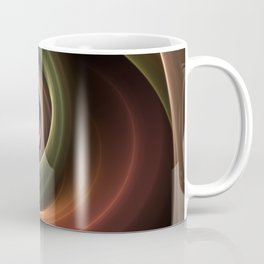 Fractal Depth And Warmth Coffee Mug