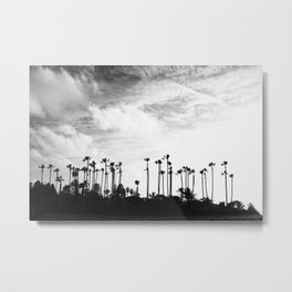 Palm Trees Standing Tall Metal Print