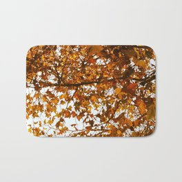 Unbe-leaf-able Bath Mat