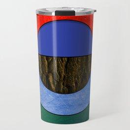 Abstract #114 Travel Mug