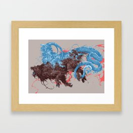 Chimera Framed Art Print