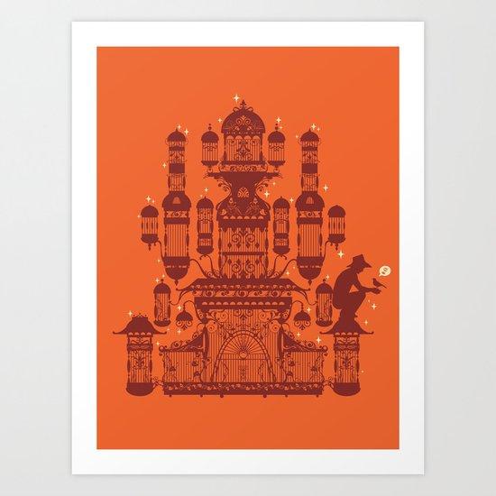 Surprise Gift Art Print