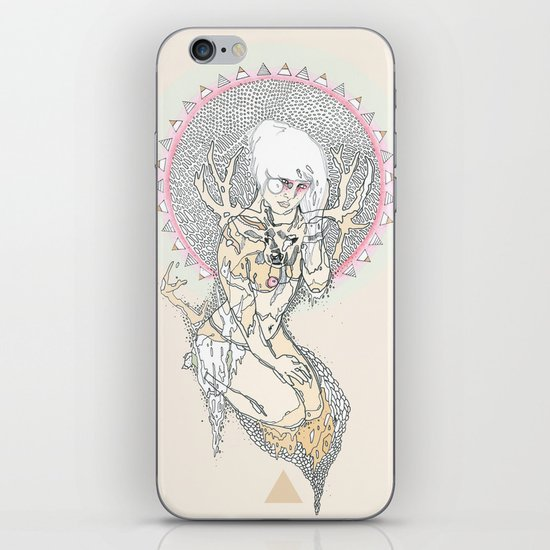hunter iPhone Skin