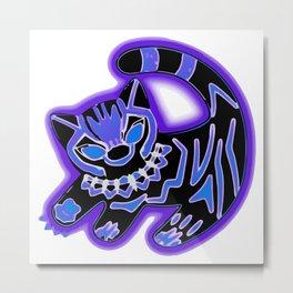 The Panther King Metal Print