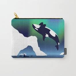Paper Craft Orca Carry-All Pouch