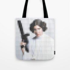 Princess Leia - StarWars - Pantone Swatch Art Tote Bag