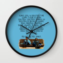 101 Rap Wall Clock
