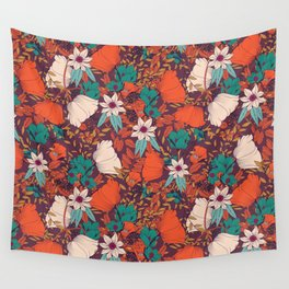 Botanical pattern 010 Wall Tapestry
