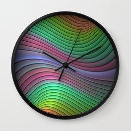 Curvitude Wall Clock