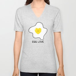 Egg Love Unisex V-Neck