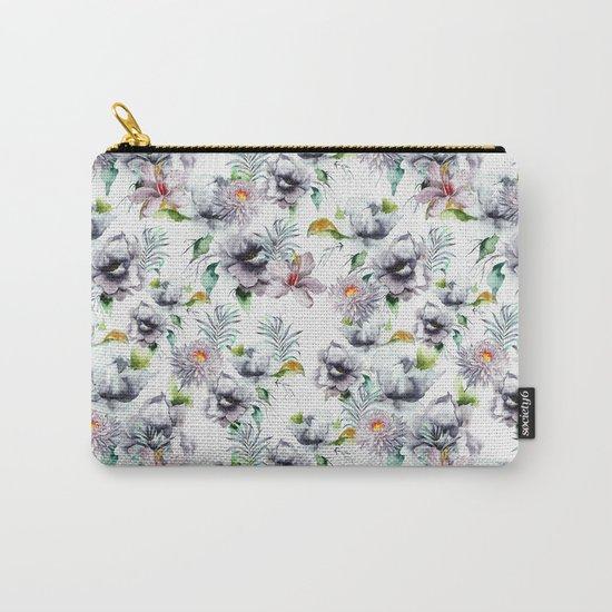 Autumn Garden PAttern Carry-All Pouch
