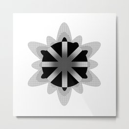 The atom Metal Print
