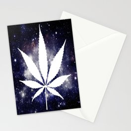 Weed : High Times Navy Blue Galaxy Stationery Cards