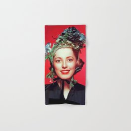 Eleanor Parker, Vintage Actress Hand & Bath Towel