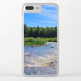 Wild Ways and Sunshine Days Clear iPhone Case