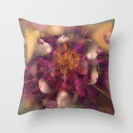 Beauty Explodes Throw Pillow