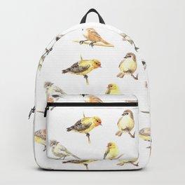 Tit birds pattern Backpack