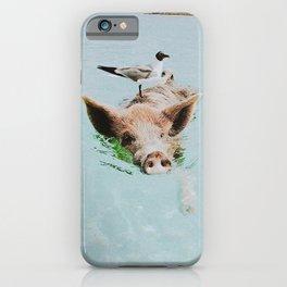 lets swim iPhone Case