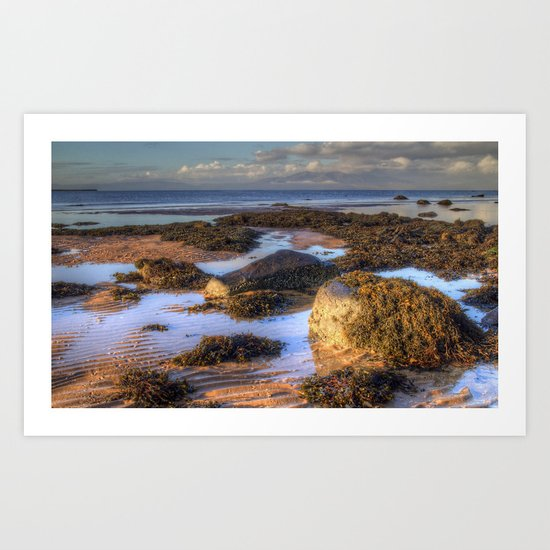 Ardrossan Morning Art Print