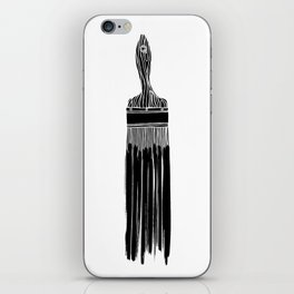 The Old Minimalistic Paint Brush iPhone Skin