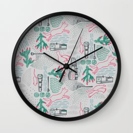 Escape from the city 3 Wall Clock