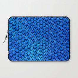 Mermaid Scales - Blue Laptop Sleeve