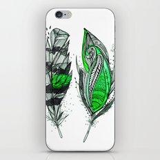 Greenish iPhone & iPod Skin