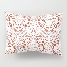 Sanguine Vintage Pattern Pillow Sham