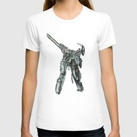 metal gear solid T-shirts featuring Metal Gear Solid LS  by Hisham Al Riyami