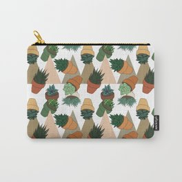 Tumbling Succulents Carry-All Pouch