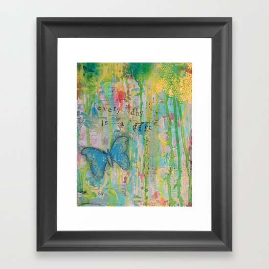 Everyday is a Gift Framed Art Print