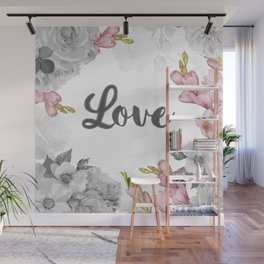 FLORAL DESIGN Wall Mural