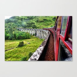 All Aboard The Hogwarts Express Canvas Print