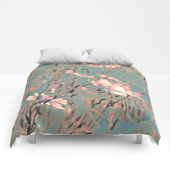 Flax(silver). Comforters