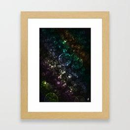 Bokeh 001 Framed Art Print