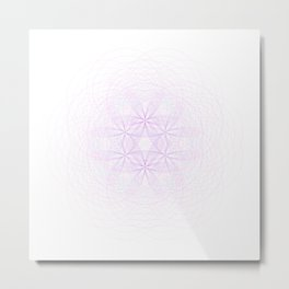 Fractal Force Metal Print