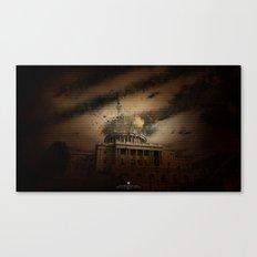 Omega Canvas Print