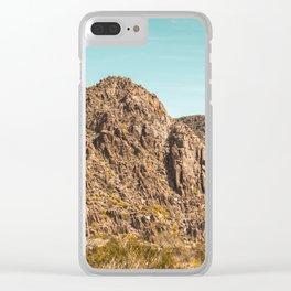 Landscape Joshua Tree 7339 Clear iPhone Case