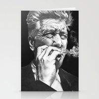 lynch Stationery Cards featuring David Lynch by erintquinn
