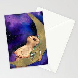 Sloth Hugs Moon Stationery Cards