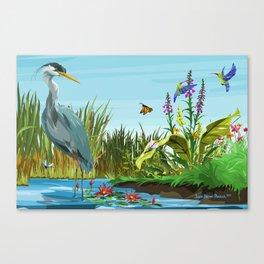 Wetlands 1 Canvas Print