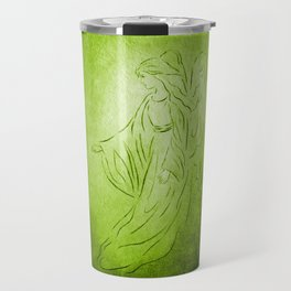 Angel of Healing - Abstract Angel Picture Travel Mug