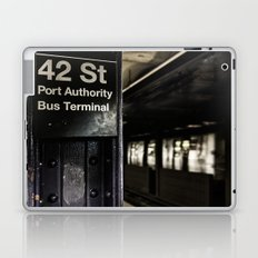 42nd street subway stop Laptop & iPad Skin