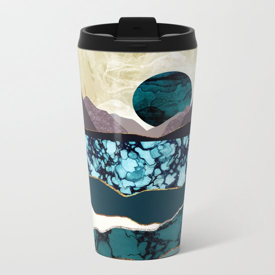 Desert Lake Metal Travel Mug