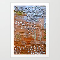 lavender // Coral Kiss Art Print