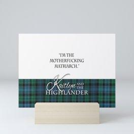 Motherf*cking Matriarch Mini Art Print