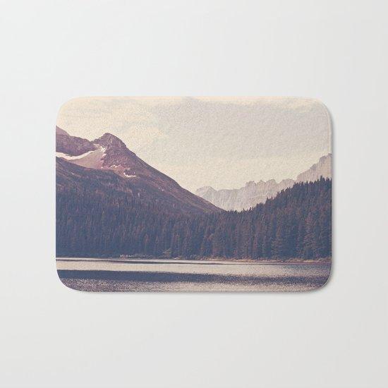 Morning Mountain Lake Bath Mat