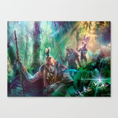 Into the Wilds Canvas Print